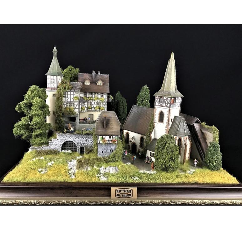 Альпийская деревня