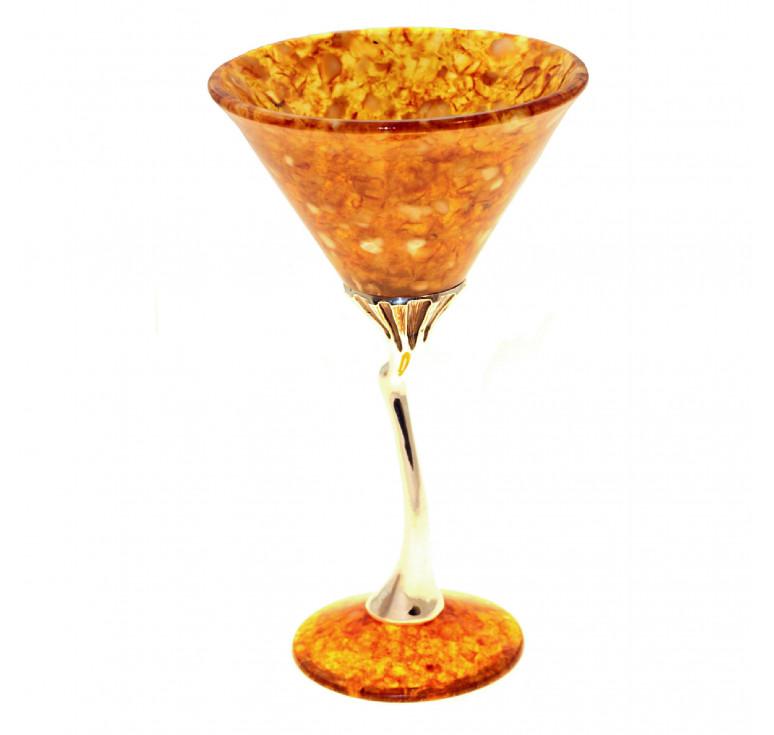 Бокал для мартини «Лето» из янтаря