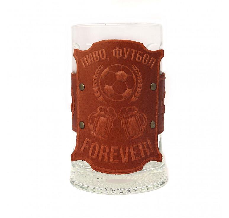 Бокал «Пиво, футбол, forever»