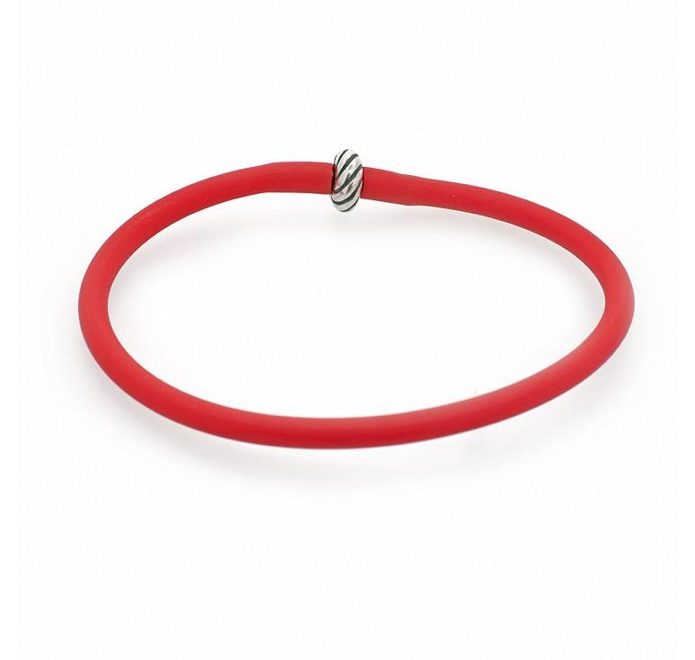 Браслет-накопитель красный