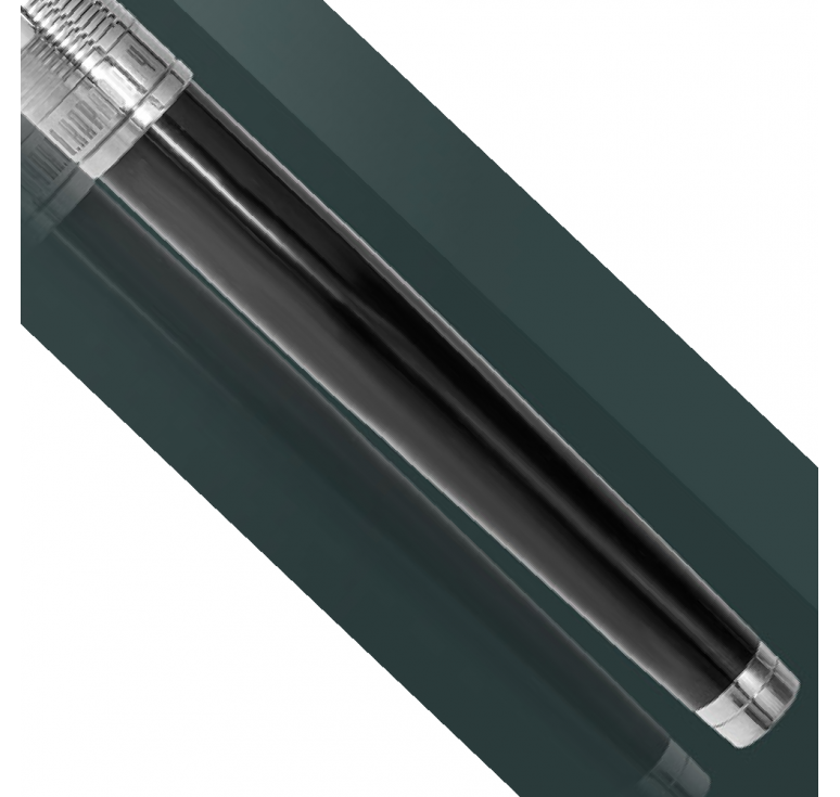 Ручка серебряная подарочная Классик-2
