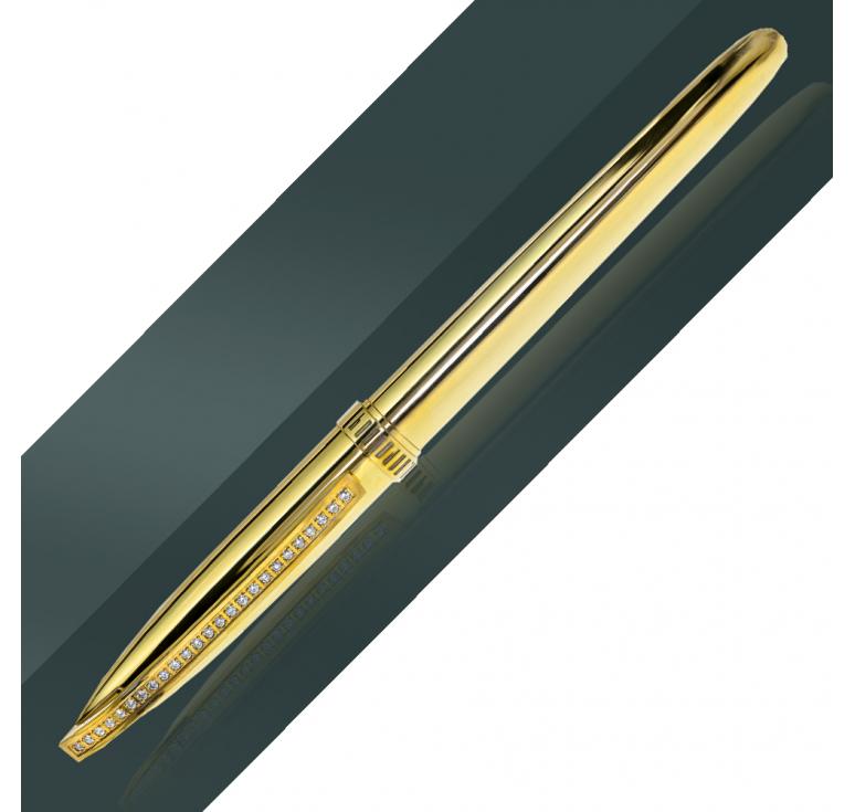Сувенирная ручка с 25 камнями