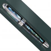 Ручка подарочная с камнями серебро 925