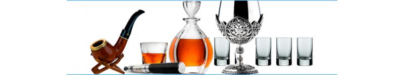 Аксессуары для алкогольных напитков и курения