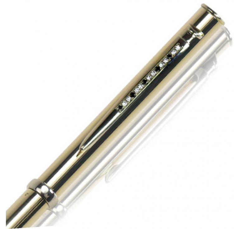 """Ручка золотая сувенирная """"Black Diamond-014"""""""