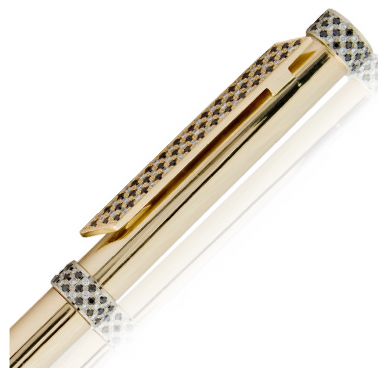 """Ручка золотая сувенирная """"Black Diamond-016"""""""