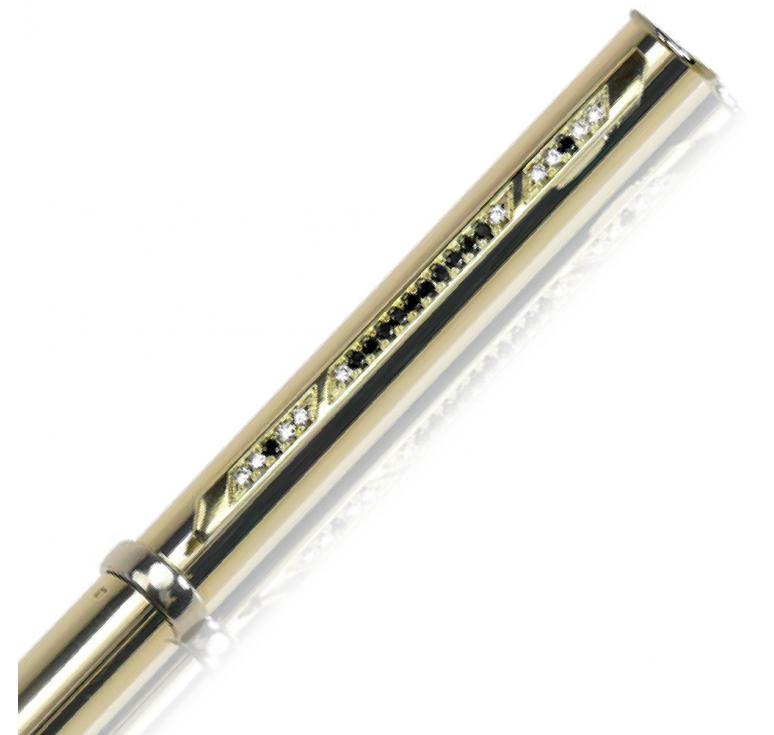 """Ручка золотая подарочная """"Black Diamond-027"""""""