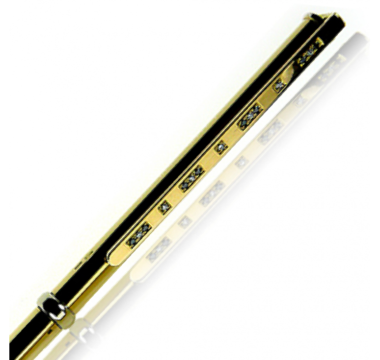 """Ручка золотая подарочная сувенирная """"Black Diamond-004"""""""