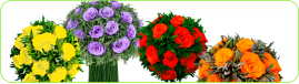 Букеты из стабилизированных цветов