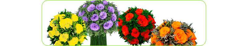 Букеты из стабилизированных цветов, букеты роз