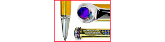 Золотые подарочные ручки