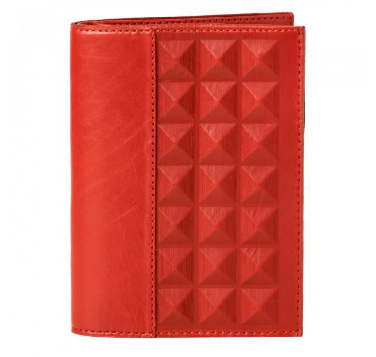 Обложка для документов «Геометрия» красная