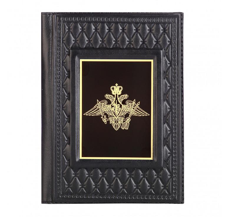 Обложка для паспорта «Ракетные войска стратегического назначения-2» с накладкой из стали