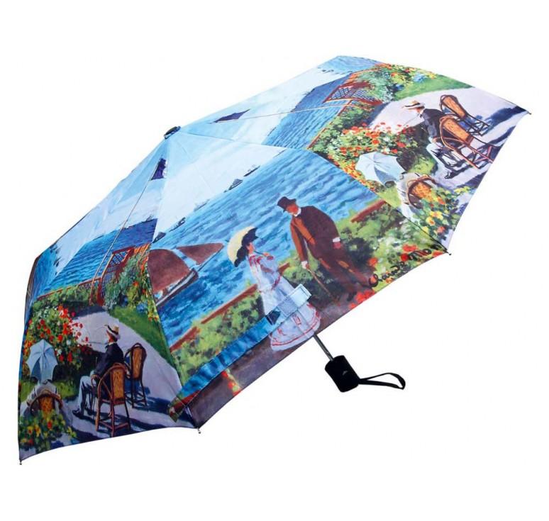 VIP Набор «Моне. Сад в Сент-Андрес»: платок, складной зонт