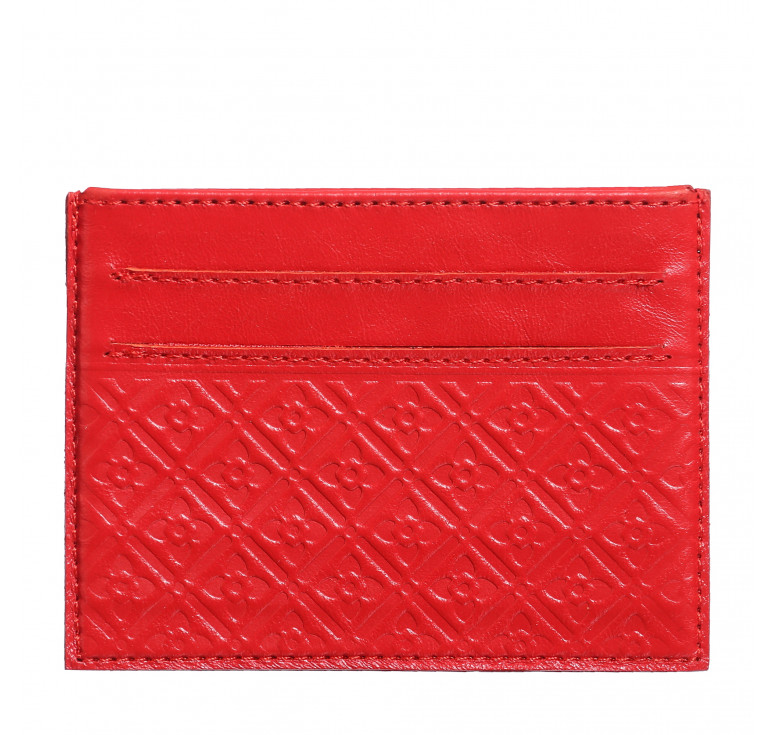 Футляр для кредитных карточек «Луидор» красный