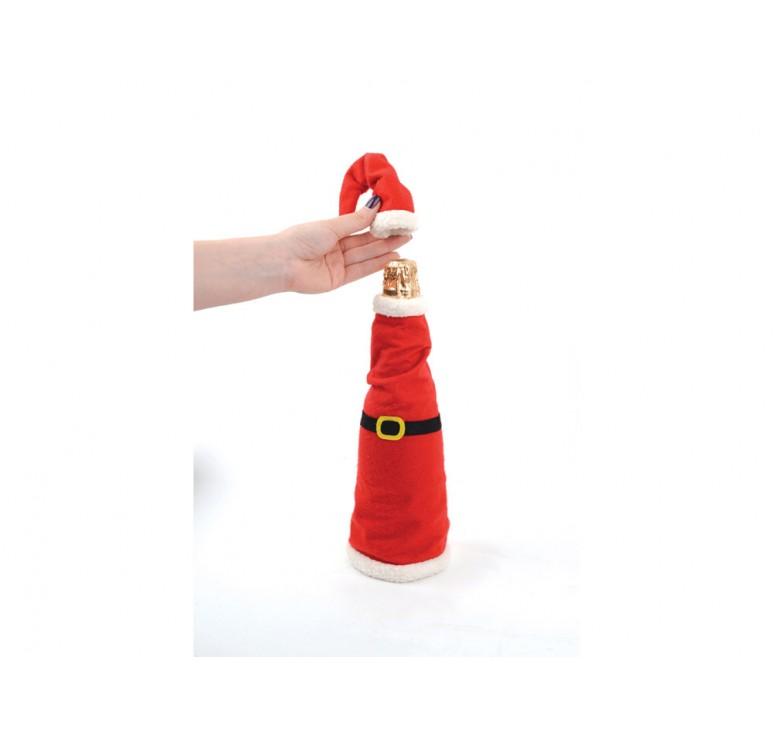 Наряд для шампанского «Санта»