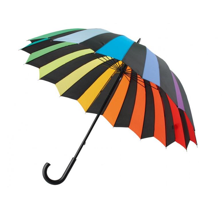 """Зонт-трость """"Радужный спектр"""""""