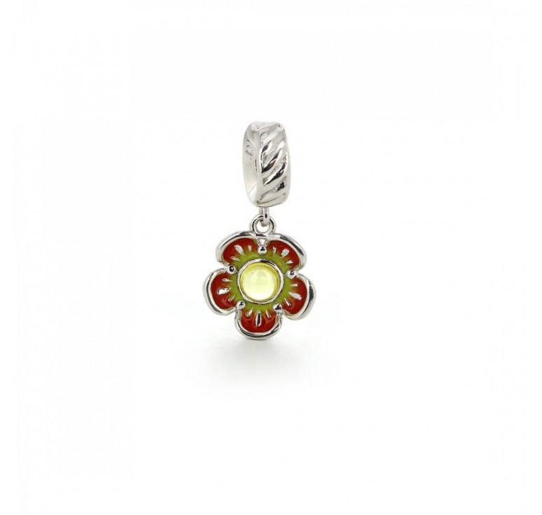 Подвеска-перлина «Цветок солнца»
