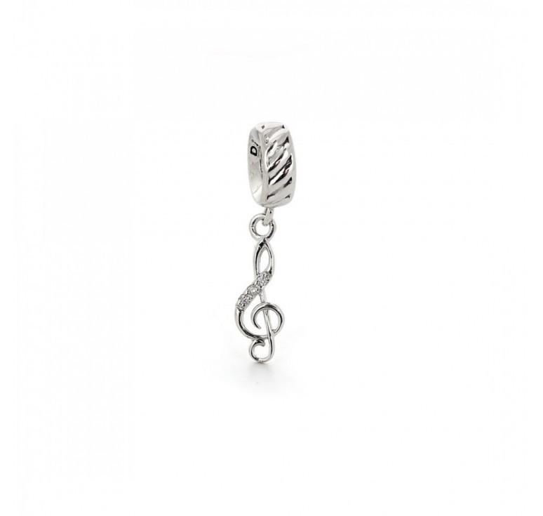 Подвеска-перлина «Скрипичный ключ»