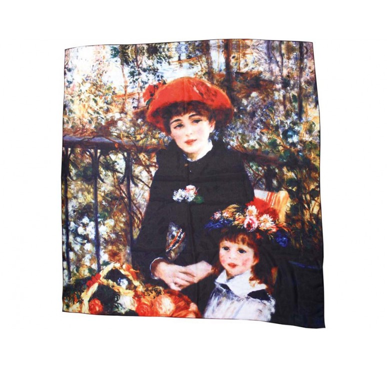 VIP Набор «Ренуар. Терраса»: платок, складной зонт