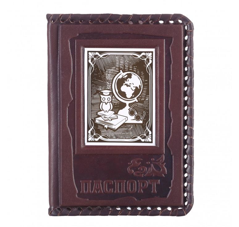 Обложка для паспорта «Учителю» 3