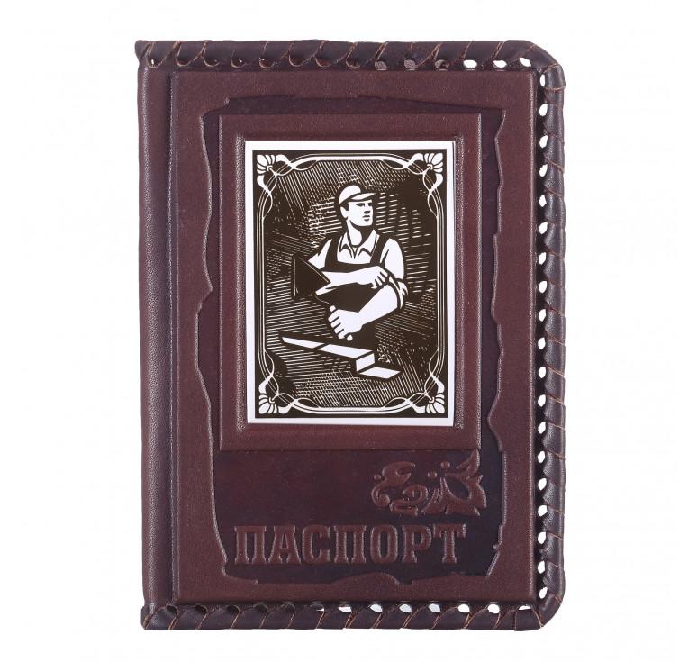 Обложка для паспорта «Строителю» 3