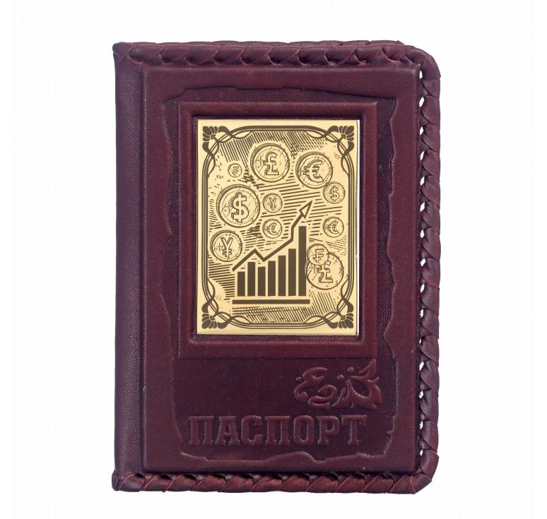 Обложка для паспорта «Брокеру» 1
