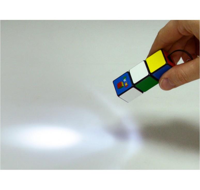 Мини-фонарик «Кубик Рубика»