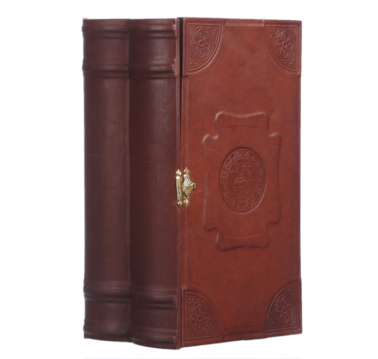 Книга-бар малый деревянный