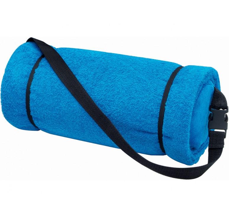 Полотенце пляжное с подушкой