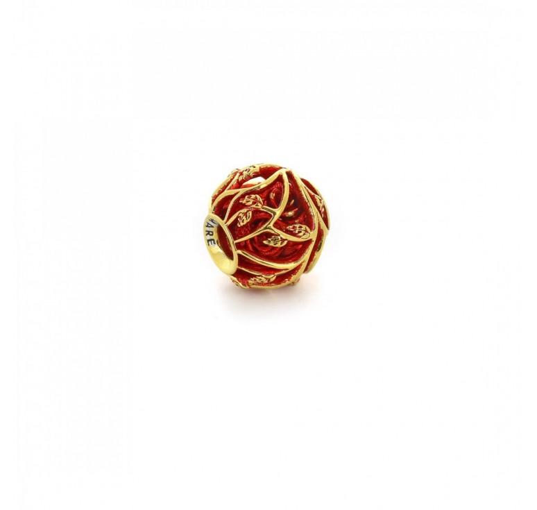 Подвеска-перлина «Розы в терновнике»