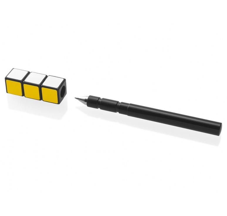 """Ручка пластиковая роллер """"Магический Кубик"""""""