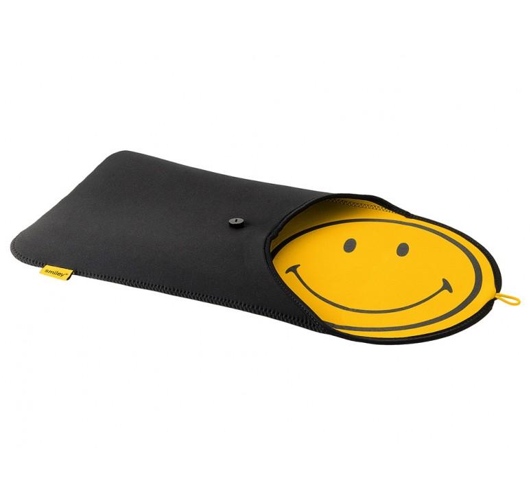 "Чехол ""Smiley"" для ноутбука 15,4"""