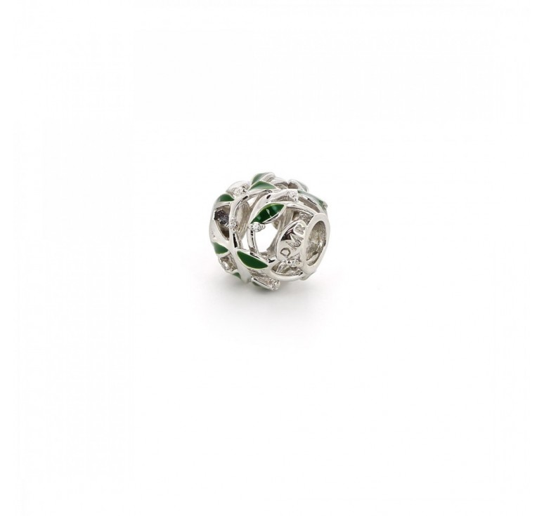 Подвеска-перлина «Росинки на траве»