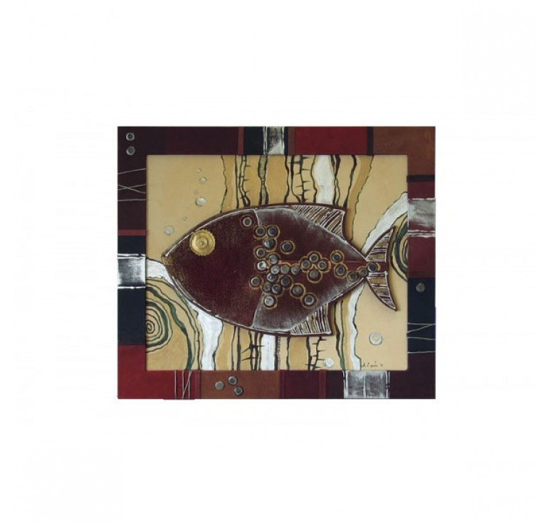 Панно «Пиранья» 055-07-22М