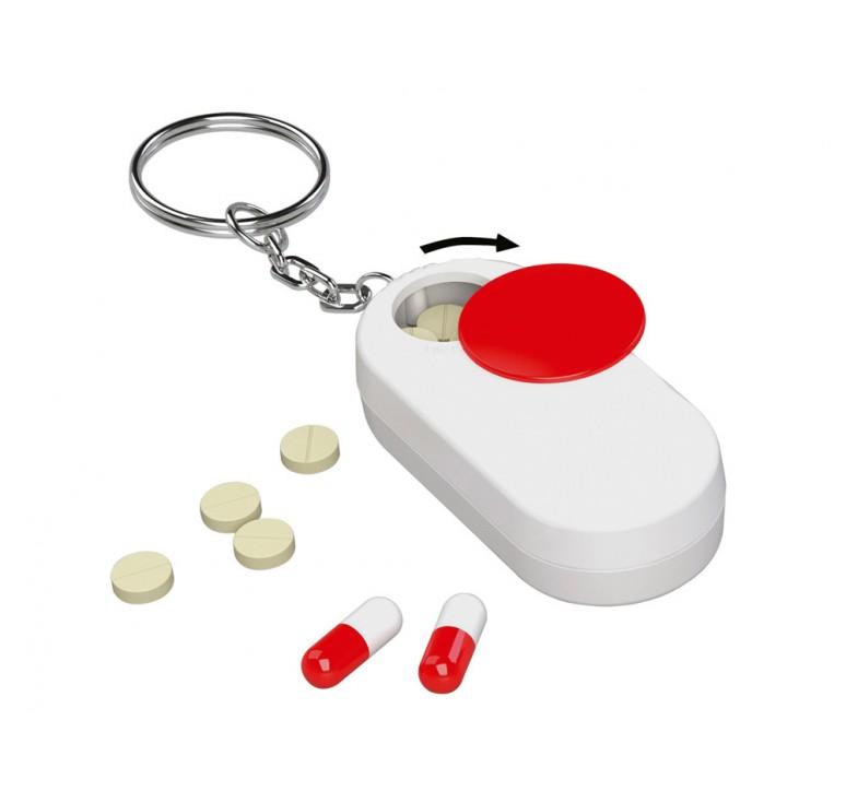 Брелок-футляр для  таблеток «Pill»