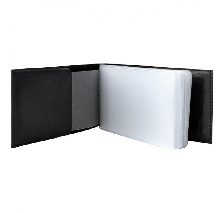 Визитница карманная «Саванна». Цвет черный