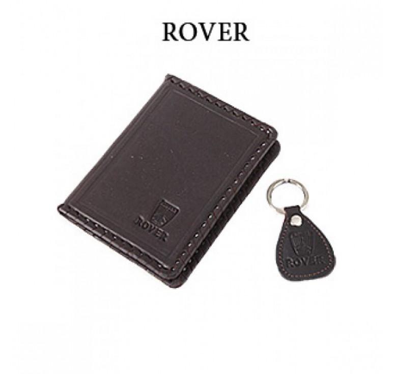 Обложка для водительского удостоверения с брелком «ROVER» 065-07-13К