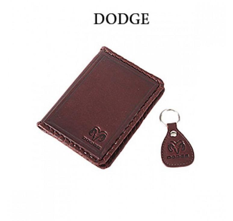 Обложка для водительского удостоверения с брелком «DODGE» 065-07-31К