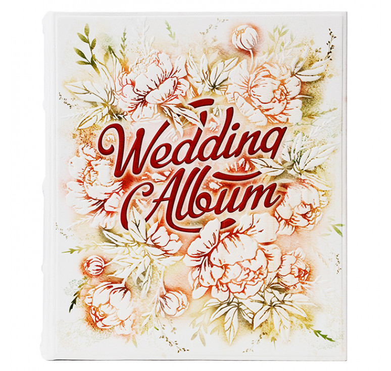 Фотоальбом большой   Wedding Album   Белый