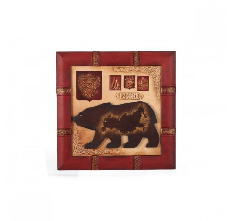 Панно «Медведь» 055-07-02М