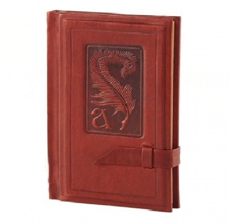 Записная книжка с алфавитом   Аристотель   Коричневый