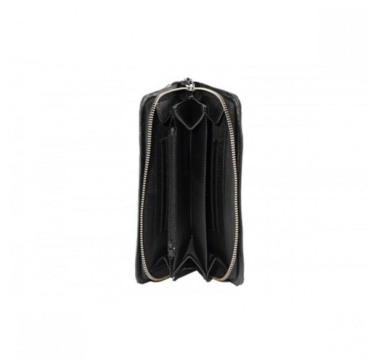 Портмоне женское «Черный жемчуг» 046-07-52К