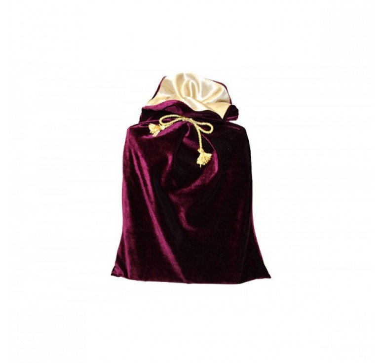 Мешок подарочный М-4 бордо М-4 - бордо