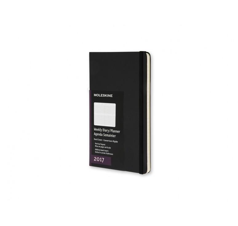Еженедельник Classic (2017) вертикальный, Pocket