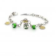 Браслет «Зеленый Колокол Удачи»