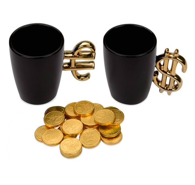"""Подарочный набор """"Золотая валюта"""""""