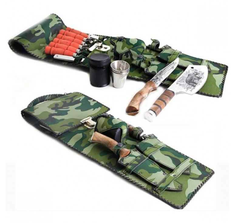 Набор для пикника №6 колчан(ткань)