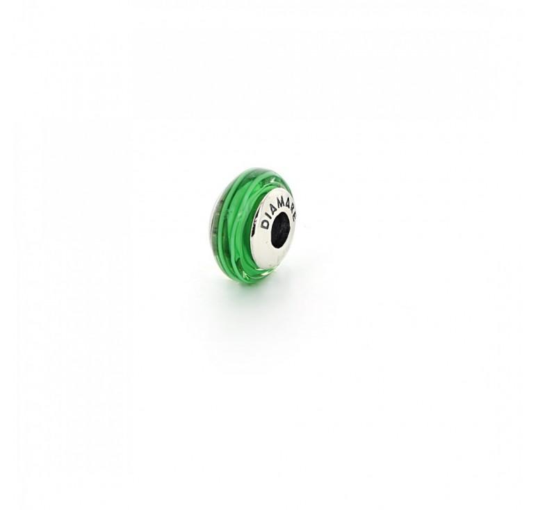 Подвеска-перлина «Зеленое яблоко»
