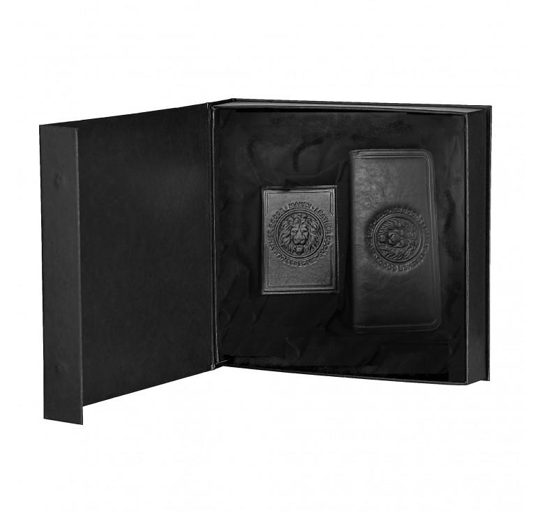 Подарочный набор «Royal». Цвет черный